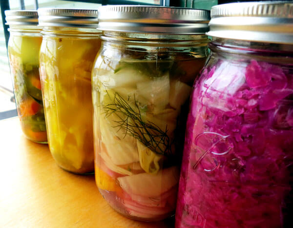 fermentirana zelenjava